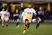 Lima Sopoaga of Wasps chases after the ball. Heineken Champions Cup match, between Bath Rugby and Wasps on January 12, 2019 at the Recreation Ground in Bath, England. Photo by: Patrick Khachfe / Onside Images