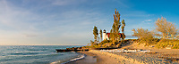 64795-01407 Point Betsie Lighthouse on Lake Michigan, Benzie County, Frankfort, MI