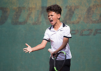 Hilversum, Netherlands, August 9, 2017, National Junior Championships, NJK, Noah Gabriel<br /> Photo: Tennisimages/Henk Koster
