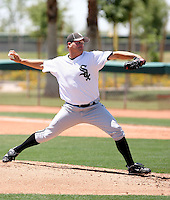 Nelson Curry, Chicago White Sox 2010 extended spring training..Photo by:  Bill Mitchell/Four Seam Images.