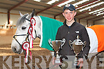 TOP JUMPER: John Nolan, Tralee with his horse Woodfield Rinrush who won the 7 year olds 1:20 meter speed class and the CSIP 1:15 meter two phase on Garryndruig Gold Digger for Ireland at the CSIP prix Manitou Fontainebleau 2010, France.