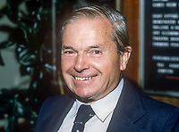 Lord Lloyd of Kilgerran, QC, aka, Rhys Gerran Lloyd, joint treasurer, Liberal Party, UK, September, 1982, 198210000275<br /><br />Copyright Image from Victor Patterson, 54 Dorchester Park, <br />Belfast, UK, BT9 6RJ<br /><br />t1: +44 28 9066 1296 (from Rep of Ireland 048 9066 1296)<br />t2: +44 28 9002 2446 (from Rep of Ireland 048 9002 2446)<br />m: +44 7802 353836<br /><br />victorpatterson@me.com<br />www.victorpatterson.com<br /><br />Please see my Terms and Conditions of Use at VICTORPATTERSON.COM. It is IMPORTANT that you familiarise yourself with them.<br /><br />Images used on the Internet must be visibly watermarked i.e. &copy;VICTORPATTERSON.COM within the body of the image and copyright metadata must not be deleted. Images used on the Internet have a size restriction of 4kbs and are chargeable at the then current NUJ rates.<br /><br />This image is only available for the use of the download recipient i.e. television station, newspaper, magazine, book publisher, etc, and must not be passed on to any third party. It is also downloaded on condition that each and every usage is notified within 7 days to victorpatterson@me.com<br /><br />The right of Victor Patterson to be identified as the author is asserted in accordance with The Copyright Designs And Patents Act (1988).