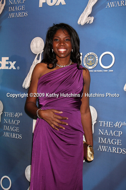 Nicki Micheaux   arriving at the NAACP Luncheon  at the Beverly Hills Hotel in Beverly Hills, CA on .February 7, 2009.©2009 Kathy Hutchins / Hutchins Photo..