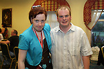 Helen Taaffe and Dave Hughes at the Special Olympics Summer Party in the Boyne Valley Hotel...Photo NEWSFILE/Jenny Matthews.(Photo credit should read Jenny Matthews/NEWSFILE)....This Picture has been sent you under the condtions enclosed by:.Newsfile Ltd..The Studio,.Millmount Abbey,.Drogheda,.Co Meath..Ireland..Tel: +353(0)41-9871240.Fax: +353(0)41-9871260.GSM: +353(0)86-2500958.email: pictures@newsfile.ie.www.newsfile.ie.FTP: 193.120.102.198.