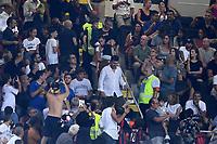 Milano 03-08-2017 Stadio San Siro Giuseppe Meazza - Europa League Milan - Craiova foto Matteo Gribaudi/Image Sport/Insidefoto<br /> nella foto: Leonardo Bonucci-Martina Maccari