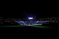 SÃO PAULO, SP 06.08.2019: DANIEL ALVES-SP - O jogador Daniel Alves, que assinou contrato com o SPFC até dezembro de 2022, foi apresentado na noite desta terça-feira (06), no estádio do Morumbi. O clube disponibilizou ingressos para os torcedores, que puderam participar do evento. O lateral-direito ainda não tem a data para estreia pelo tricolor paulista. (Foto: Ale Frata/Código19)
