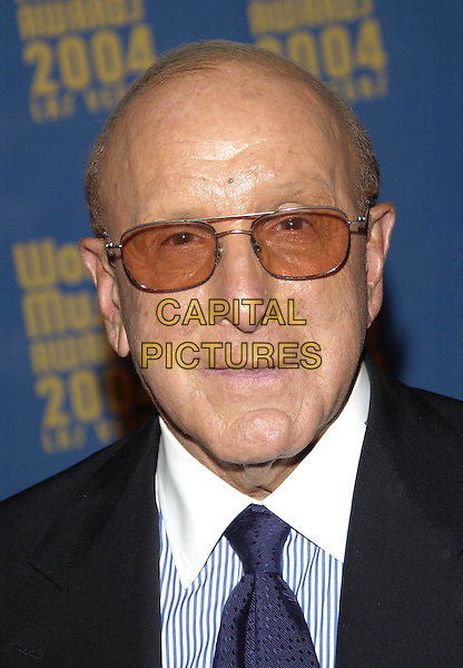 CLIVE DAVIS.Attends Cocktail Party preceeding the World Music Awards, Las Vegas, USA, September 14th 2004..portrait headshot.Ref: PL.www.capitalpictures.com.sales@capitalpictures.com.©Capital Pictures.