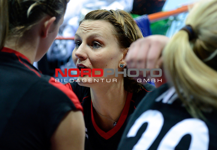 05-05-2012 VOLLEYBAL: HALVE FINALE OKT2 POLEN - DUITSLAND: ANKARA<br /> Polen wint met 3-1 van Duitsland / Angelina Grun<br /> <br /> Foto &copy; nph / Hoogendoorn