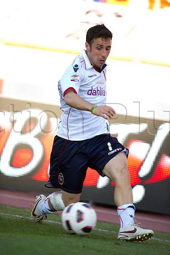 Andrea Cossu (Cagliari), MARCH 6, 2011 - Football : Italian  Series A  match between Bologna 2-2 Cagliari at Renato Dall'Ara Stadium in Bologna, Italy.