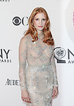 Jessica Chastain pictured at the 66th Annual Tony Awards held at The Beacon Theatre in New York City , New York on June 10, 2012. © Walter McBride / WM Photography
