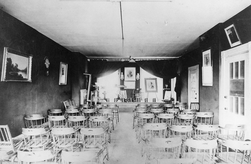 Emerson classroom from 1880 historic