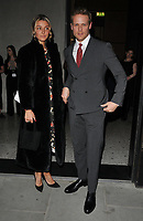 guest and Sam Heughan at the Nobu Hotel Shoreditch official launch party, Nobu Hotel Shoreditch, Willow Street, London, England, UK, on Tuesday 15 May 2018.<br /> CAP/CAN<br /> &copy;CAN/Capital Pictures