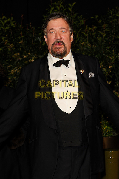 LONDON, ENGLAND - FEBRUARY 16: Stephen Fry attends EE British Academy Film Awards afterparty at the Grosvenor Hotel on February 16, 2014 in London, England. <br /> CAP/CJ<br /> &copy;Chris Joseph/Capital Pictures