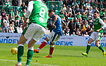 13.05.2018 Hibs v Rangers: James Tavernier scores for Rangers