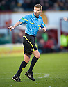REFEREE CALUM MURRAY..17/12/2011 sct_jsp022_motherwell_v_st_mirren     .Copyright  Pic : James Stewart.James Stewart Photography 19 Carronlea Drive, Falkirk. FK2 8DN      Vat Reg No. 607 6932 25.Telephone      : +44 (0)1324 570291 .Mobile              : +44 (0)7721 416997.E-mail  :  jim@jspa.co.uk.If you require further information then contact Jim Stewart on any of the numbers above.........