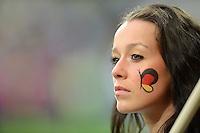 FUSSBALL  EUROPAMEISTERSCHAFT 2012   VIERTELFINALE Deutschland - Griechenland     22.06.2012 Deutscher Fussballfan