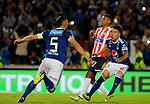 Millonarios igualó 1-1 ante Junior. Fecha 9 Liga Águila II-2018.