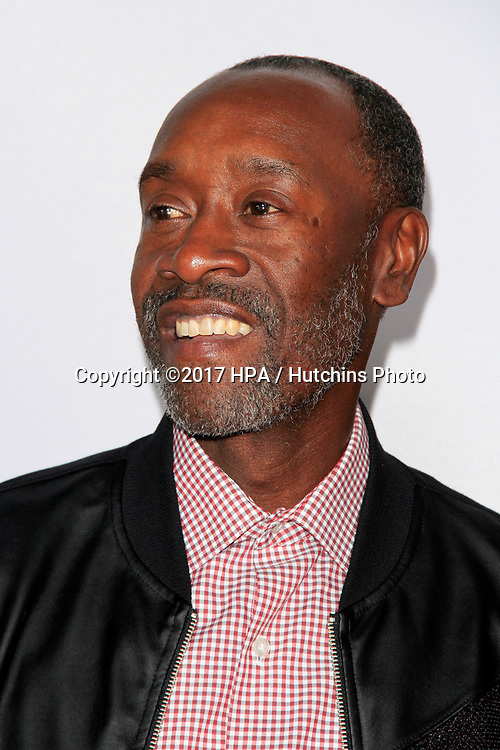"""LOS ANGELES - APR 12:  Don Cheadle at the """"The Promise"""" Premiere at the TCL Chinese Theater IMAX on April 12, 2017 in Los Angeles, CA"""