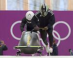 14/02/2014 - Mens 2-man bobsleigh practice - Sanki sliding centre - Sochi - Russia