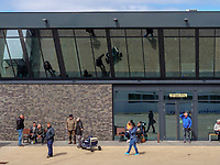 Südhafen, Seebäderschiff Helgoland., Fähre von Cuxhaven nach Helgoland,  Kreis Pinneberg, Schleswig-Holstein, Deutschland, Europa<br /> Southport, Tourist steamer Helgoland - ferry Cuxhaven - Helgoland, district Pinneberg, Schleswig-Holstein, germany, Europe