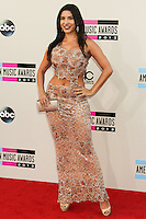 LOS ANGELES, CA - NOVEMBER 24: Mayra Veronica arriving at the 2013 American Music Awards held at Nokia Theatre L.A. Live on November 24, 2013 in Los Angeles, California. (Photo by Celebrity Monitor)