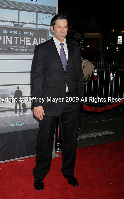 """WESTWOOD, CA. - November 30: Co-screenwriter Sheldon Turner arrives at the """"Up In The Air"""" Los Angeles Premiere at Mann Village Theatre on November 30, 2009 in Westwood, California."""