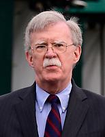 National Security Advisor John R. Bolton Speaks to Reporters