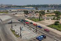 HAVANA, CUBA, 20.07.2015 –  Vista da avenida Paseo del Prado na cidade de Havana em Cuba e ao fundo Malecón. (Foto: Paulo Lisboa/Brazil Photo Press)