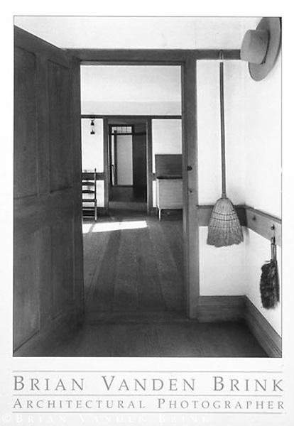 DWELLING HOUSE<br /> Shaker Community<br /> Sabbath Day Lake, Maine &copy; Brian Vanden Brink, 1997