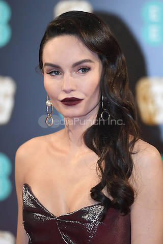 LONDON, ENGLAND - FEBRUARY 12: Ava West attends the 70th EE British Academy Film Awards (BAFTA) at Royal Albert Hall on February 12, 2017 in London, England.<br /> CAP/BEL<br /> &copy;BEL/Capital Pictures /MediaPunch ***NORTH AND SOUTH AMERICAS ONLY***