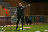 Yeovil Town manager Darren Way during Colchester United vs Yeovil Town, Sky Bet EFL League 2 Football at the JobServe Community Stadium on 2nd October 2018