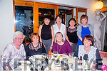 Celebrating the new year at Bella it's on Thursday were front l-r Angela Walsh, Mary O'Sullivan, Shani Lonergan, Josephine O'Sullivan Back l-r Joann Walsh, Mary Ryan, , Gretta McCanon and Margaret Dillane