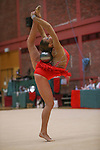 Welsh Rhythmic Gymnastics championships.<br /> Frankie Jones<br /> 10.05.14<br /> &copy;Steve Pope-SPORTINGWALES