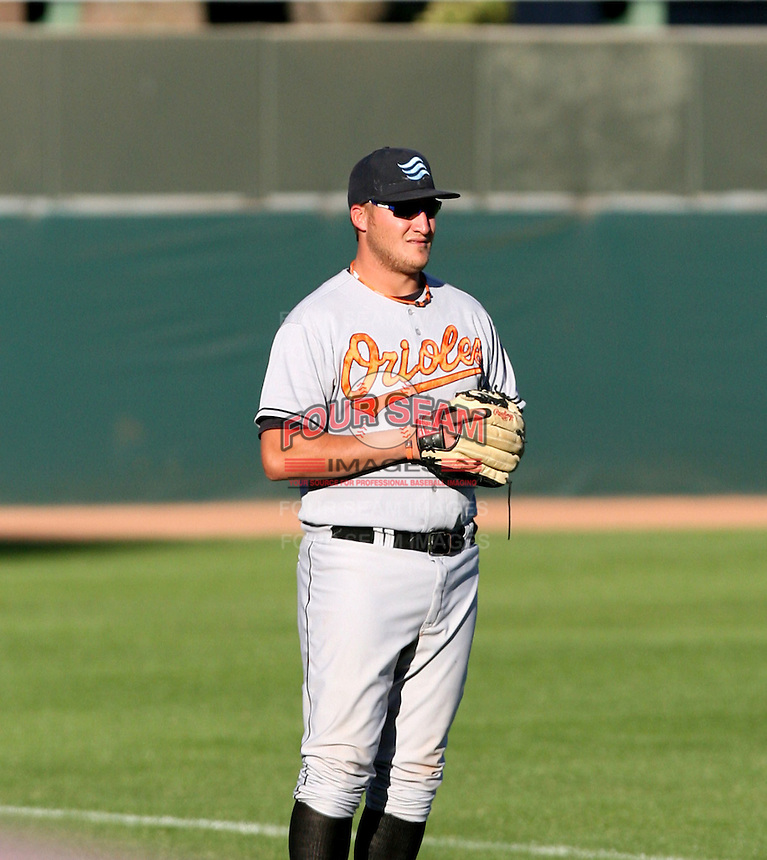 Chad Thall / Surprise Rafters 2008 Arizona Fall League..Photo by:  Bill Mitchell/Four Seam Images