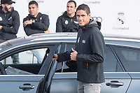 Raphael Varane of Real Madrid CF poses for a photograph after being presented with a new Audi car as part of an ongoing sponsorship deal with Real Madrid at their Ciudad Deportivo training grounds in Madrid, Spain. November 23, 2017. (ALTERPHOTOS/Borja B.Hojas) /NortePhoto.com NORTEPHOTOMEXICO
