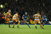 Olly Robinson of Cardiff Blues in action during the Guinness Pro14 Round 5 match between Cardiff Blues and Toyota Cheetahs at the Cardiff Arms Park Stadium in Cardiff, Wales, UK. Friday 28 September 2018
