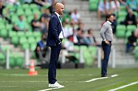 GRONINGEN - Voetbal, FC Groningen - FC Utrecht,  Eredivisie , Noordlease stadion, seizoen 2017-2018, 27-08-2017,   FC Utrecht trainer Erik ten Hag