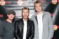 BALA CYNWYD, PA - OCTOBER 17 :  Lifehouse visit Mix 106.1's iHeart Radio Performance Theater in Bala Cynwyd, Pa on October 17, 2012  © Star Shooter / MediaPunch Inc /NortePhoto /NortePhoto