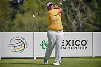 Kiradech Aphibarnrat (THA) watches his tee shot on 18 during round 2 of the World Golf Championships, Mexico, Club De Golf Chapultepec, Mexico City, Mexico. 3/2/2018.<br /> Picture: Golffile | Ken Murray<br /> <br /> <br /> All photo usage must carry mandatory copyright credit (&copy; Golffile | Ken Murray)