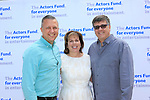 LOS ANGELES - MAY 15: Brian McNutt, Ilyanne Morden Kichaven, Michael Kichaven at The Actors Fund's Edwin Forrest Day celebration at a private residence on May 15, 2016 in Sherman Oaks, California