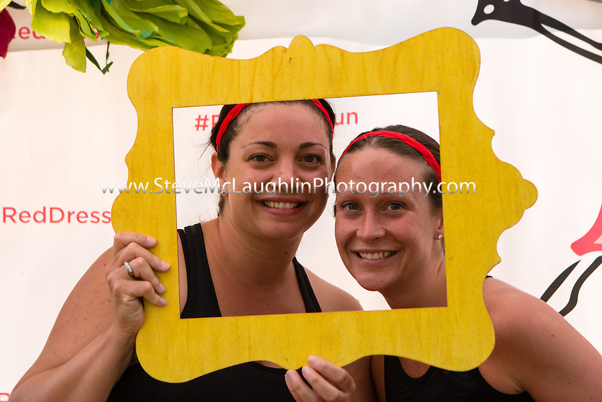 July 11, 2015: 18th annual Red Dress Run for Women - West Hartford, CT.