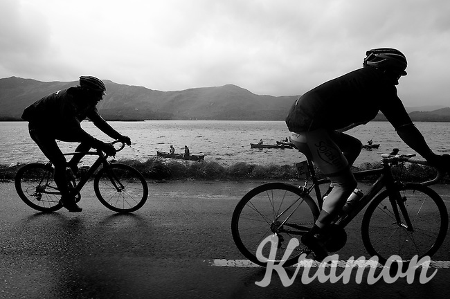lakeside fans<br /> <br /> Tour of Britain<br /> stage 2: Carlisle to Kendal (187km)