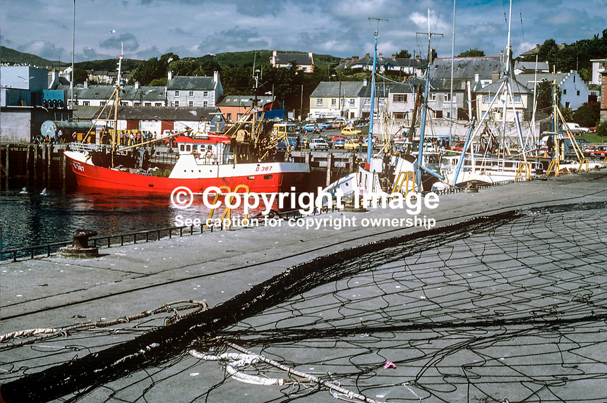 Harbour, Killybegs, Co Donegal, Rep of Ireland, 1978080223a..Copyright Image from Victor Patterson, 54 Dorchester Park, Belfast, United Kingdom, UK...For my Terms and Conditions of Use go to http://www.victorpatterson.com/Victor_Patterson/Terms_%26_Conditions.html