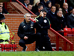 Jose Mourinho manager of Manchester United during the English Premier League match at Old Trafford Stadium, Manchester. Picture date: April 16th 2017. Pic credit should read: Simon Bellis/Sportimage