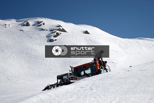 NELSON, NEW ZEALAND September 15: Rainbow Ski Area's Cheapskates Slopestyle, Rainbow Ski, Nelson, New Zealand, September 15, 2018 (Photos by: Barry Whitnall/Shuttersport Ltd