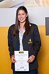 Netball winner Kayla Cullen from Auckland Girls Grammar School. ASB College Sport Auckland Secondary School Young Sports Person of the Year Awards held at Eden Park on Thursday 12th of September 2009.