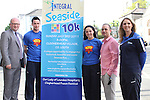 Ged Nash with Integral Staff, Stephen Smith, Sandra Zelnyte, Mathew Stevens (General Manager) and Lorraine Balfe at the Launch of the Clogherhead Seaside 10km Run.at the Launch of the Clogherhead Seaside 10km Run...(Photo credit should read www.newsfile.ie)....This Picture has been sent you under the conditions enclosed by:.Newsfile Ltd..The Studio,.Millmount Abbey,.Drogheda,.Co Meath..Ireland..Tel: +353(0)41-9871240.Fax: +353(0)41-9871260.GSM: +353(0)86-2500958.email: pictures@newsfile.ie.www.newsfile.ie.