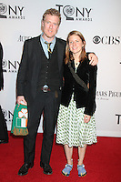 Glen Hansard and Markéta Irglová at the 66th Annual Tony Awards at The Beacon Theatre on June 10, 2012 in New York City. Credit: RW/MediaPunch Inc.