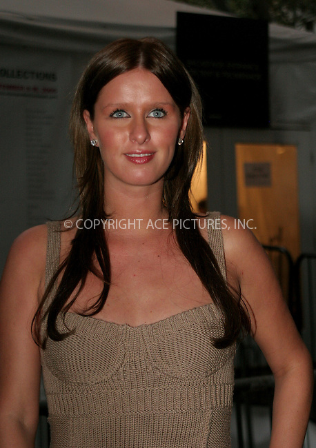 WWW.ACEPIXS.COM . . . . .  ....NEW YORK, SEPTEMBER 11, 2006....Nicky Hilton at the Max Azria Spring Fashion Show 2007.....Please byline: NANCY RIVERA- ACEPIXS.COM.... *** ***..Ace Pictures, Inc:  ..Craig Ashby (212) 243-8787..e-mail: picturedesk@acepixs.com..web: http://www.acepixs.com
