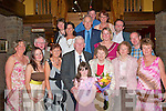 6573..ANNIVERSARY: Han and Thoma?s Geoghegan, Turaree, Glin, front centre who celebrated their 60th Wedding Anniversary at Kirby's Lanterns Hotel, Tarbert with family and friends on Saturday night.   Copyright Kerry's Eye 2008